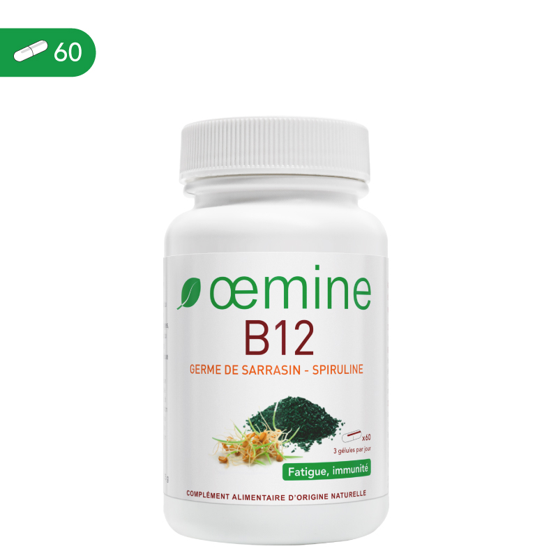 Oemine B12 allows vitamin B12 to be served at the recommended daily dose